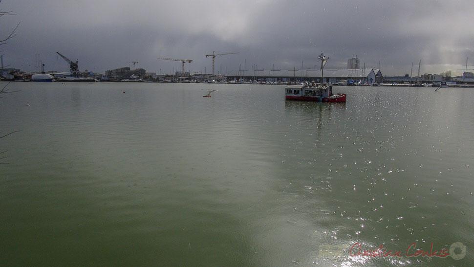 Plic-ploc. 26 février 2014. Bassin à flots, Bordeaux, Gironde
