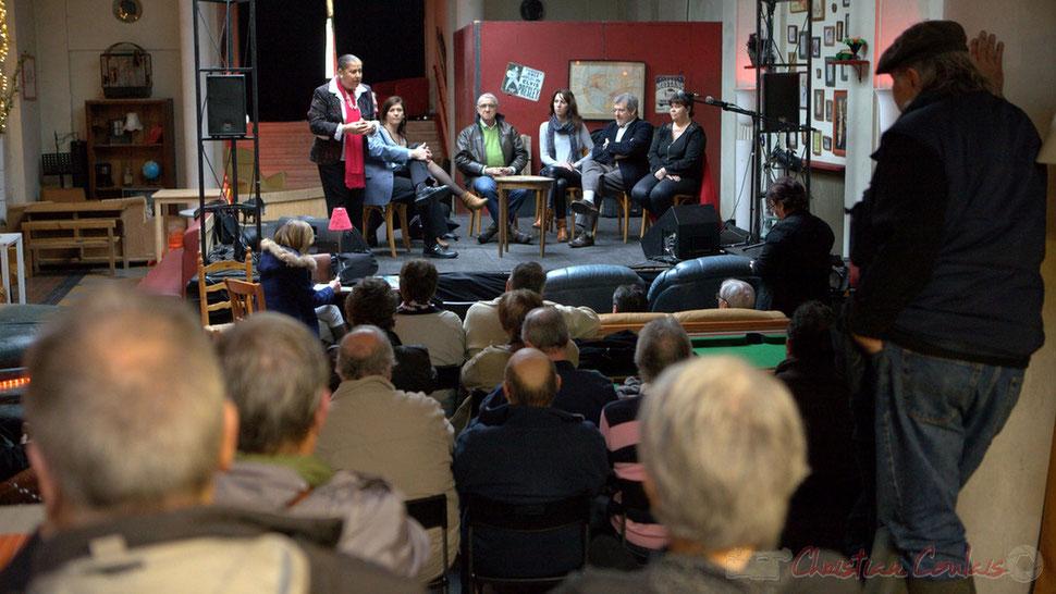 Martine Faure, Jean-Marie Darmian, Anne-Laure Fabre-Nadler, Bernard Castagnet, Christelle Guionie, Guy Moréno, Marie-Claude Agullana