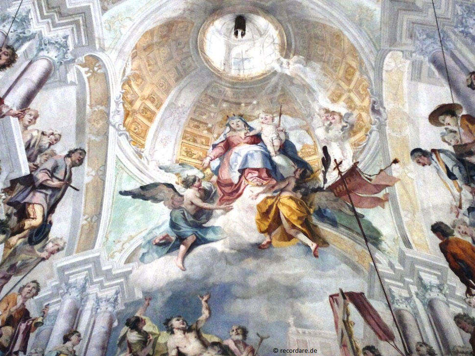 Deckenfresko Mühlfeldkirche