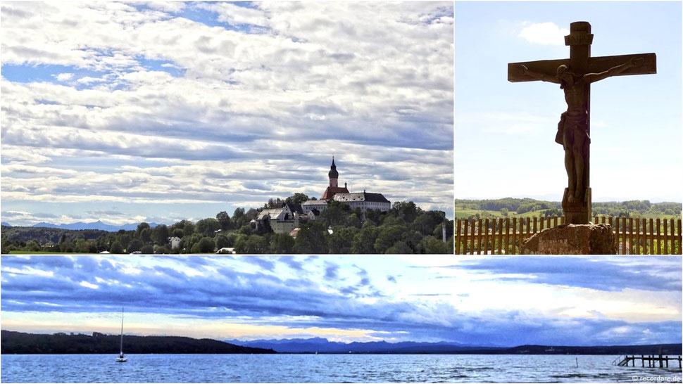 Kloster Andechs und Umgebung