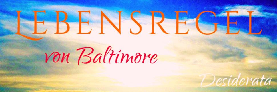 Lebensregel von Baltimore