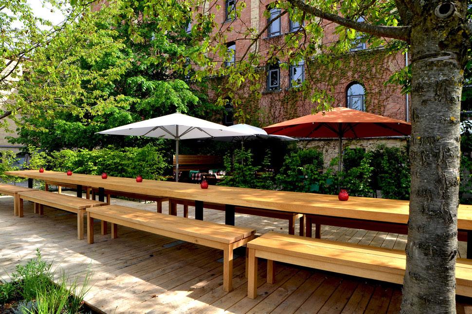 Die Sommer Terrasse Steakmanufaktur