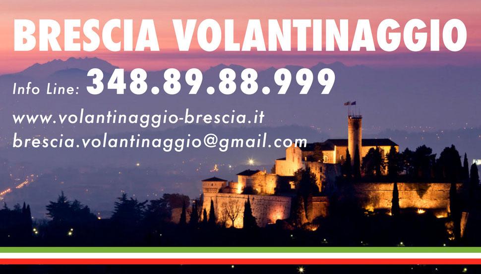 Brescia volantinaggio contatti e telefono