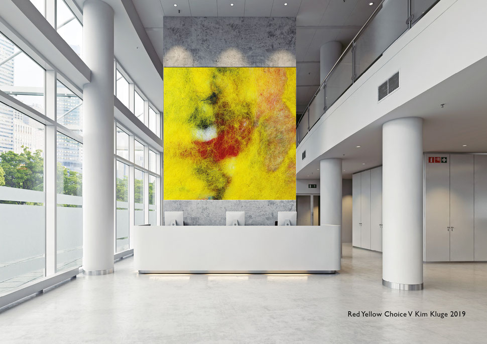 www.kimkluge.com - Red Yellow Choice V Kim Kluge 2019
