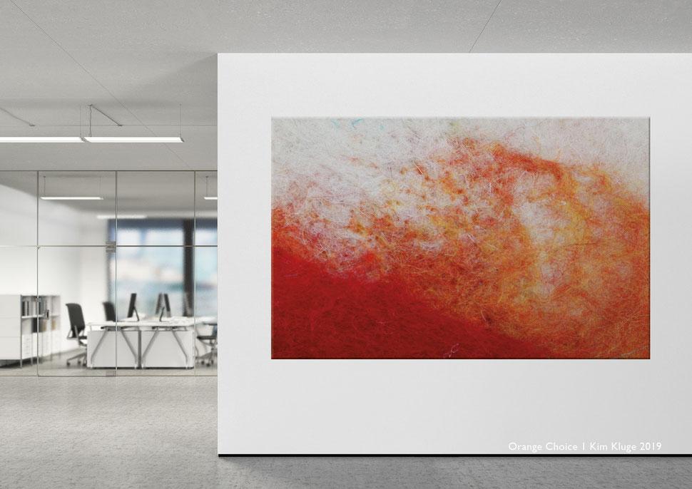 www.kimkluge.com - Orange Choice I Kim Kluge 2019