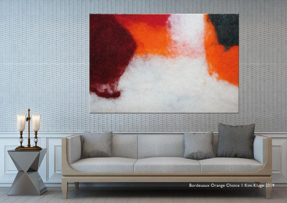 www.kimkluge.com - Bordeuax Orange Choice I Kim Kluge 2019