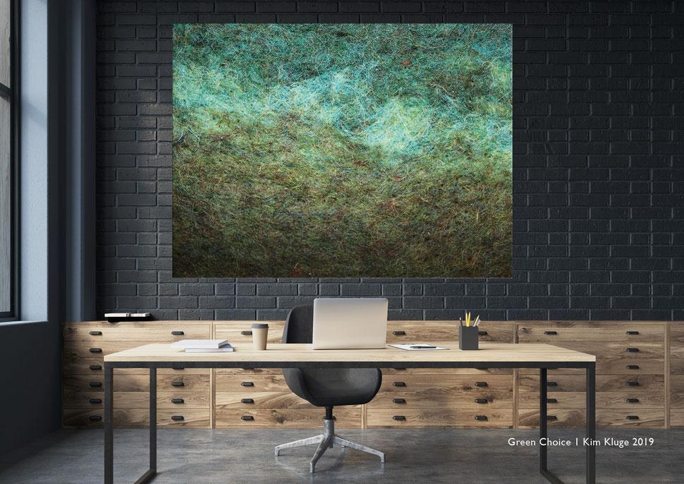 www.kimkluge.com - Green Choice I Kim Kluge 2019