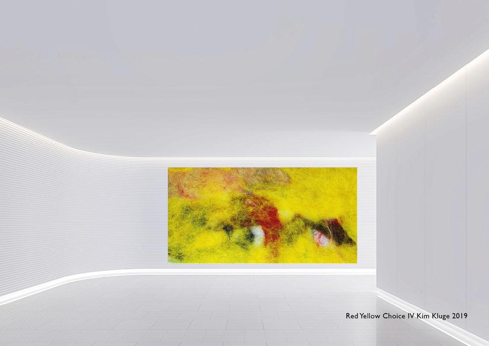 www.kimkluge.com - Red Yellow Choice IV Kim Kluge 2019