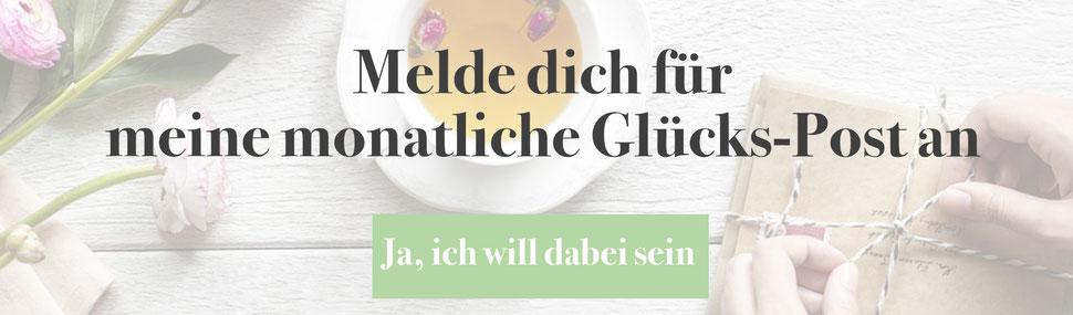 Newsletter für Glück und Gesundheit Kristina von Fuchs