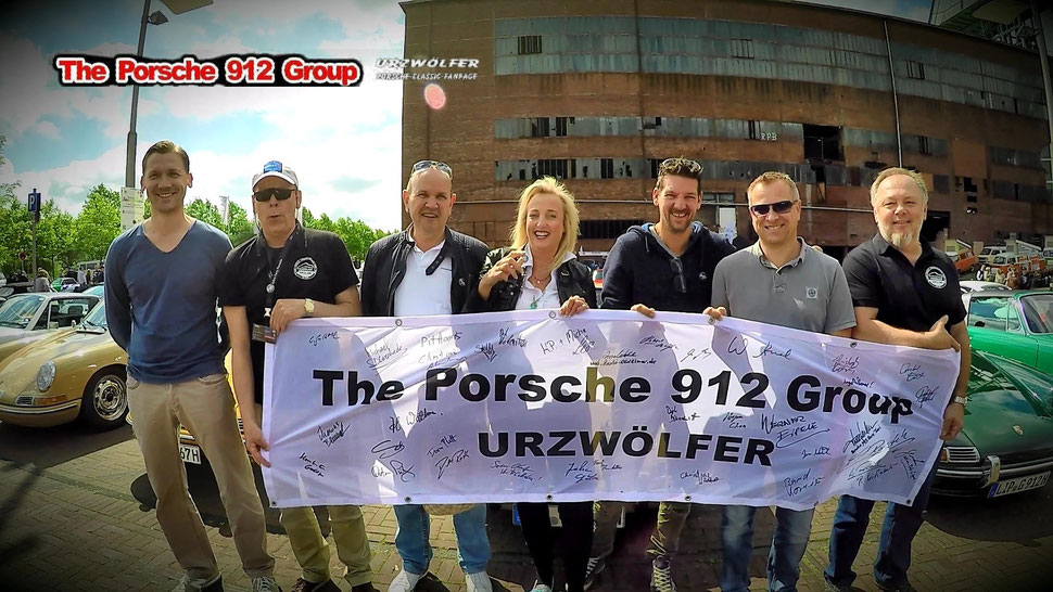 Porsche 912 Group Urzwölfer auf Ewald Zeche Herten