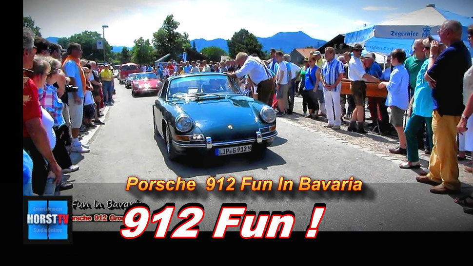 Porsche 912 Group Urzwölfer in Bavaria