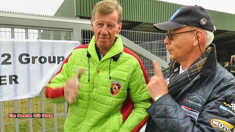Walter Röhrl unterstützt die Porsche 912 Group Urzwölfer