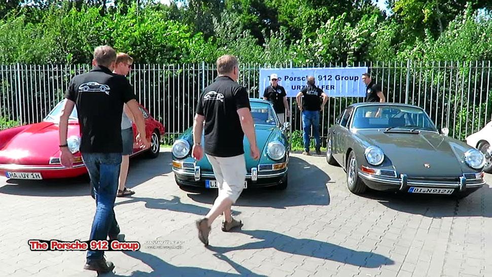 Porsche 912 Group Urzwölfer beim Porschetreffen in Lübbecke