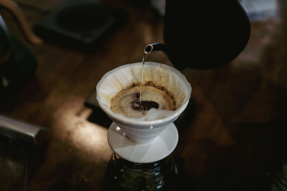 Kaffee brühen mit der Hario V60