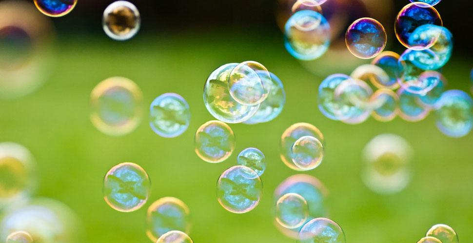 Seifenblasen – vergängliche Schönheit
