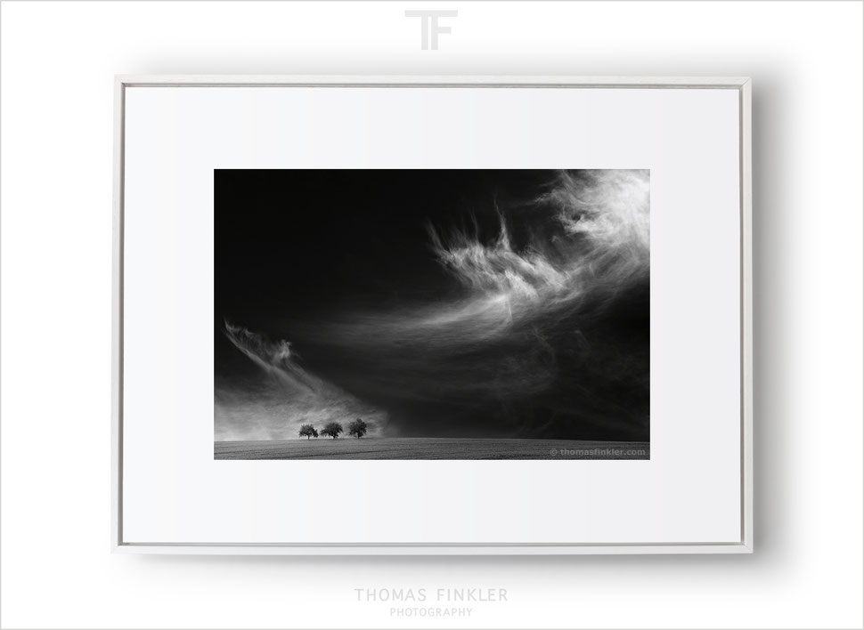 Framed limited edition prints, limited edition fine art prints, wall art, original fine art black and white photography by Thomas Finkler for sale