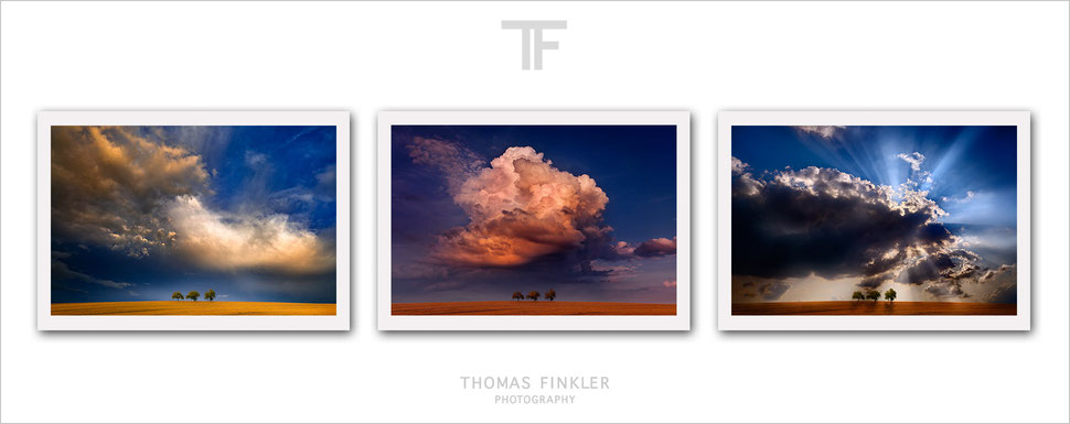 Photography, fine art, 3 piece, wall art, landscape, nature, cloudscape, color, colorful, prints, colour, colourful, art, series, for sale, online