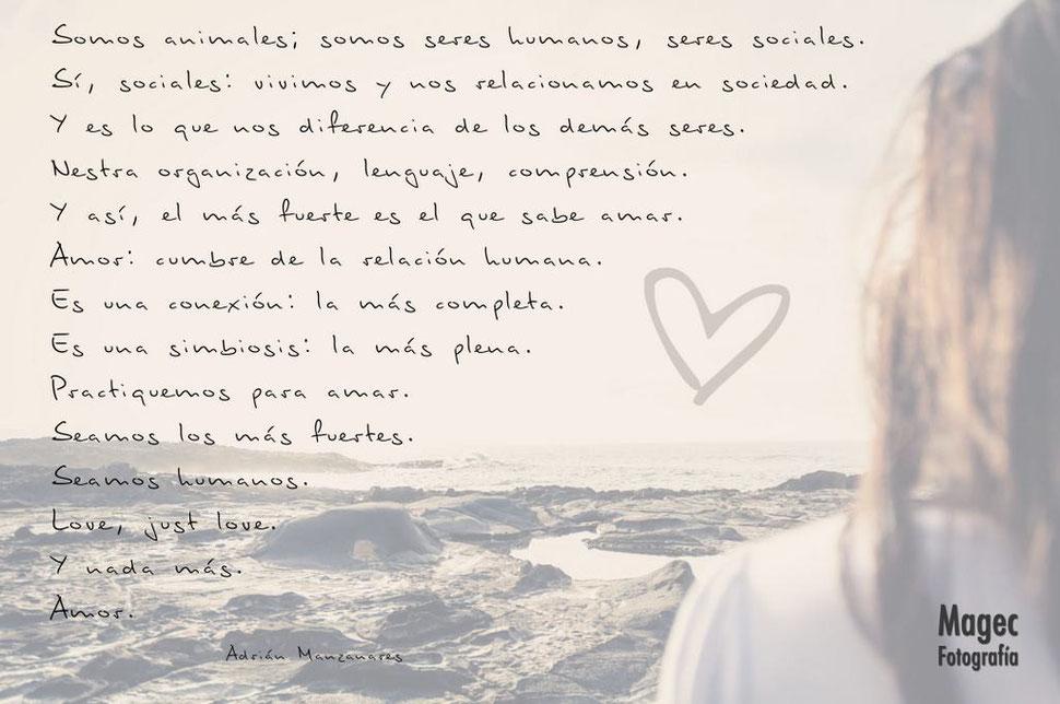 Amor. Love, just love.