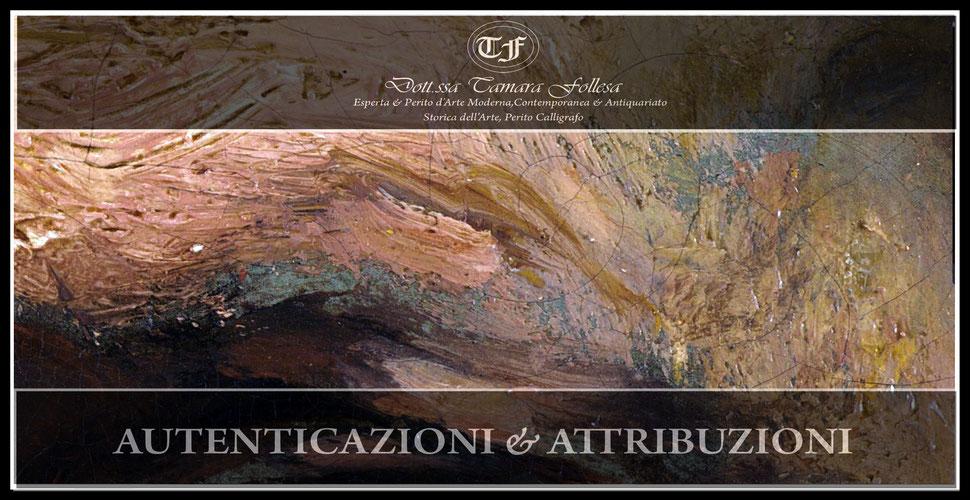 Perito d'Arte_Expertise_Autentica_Autenticazioni_Attribuzioni_Dott.ssa Tamara Follesa