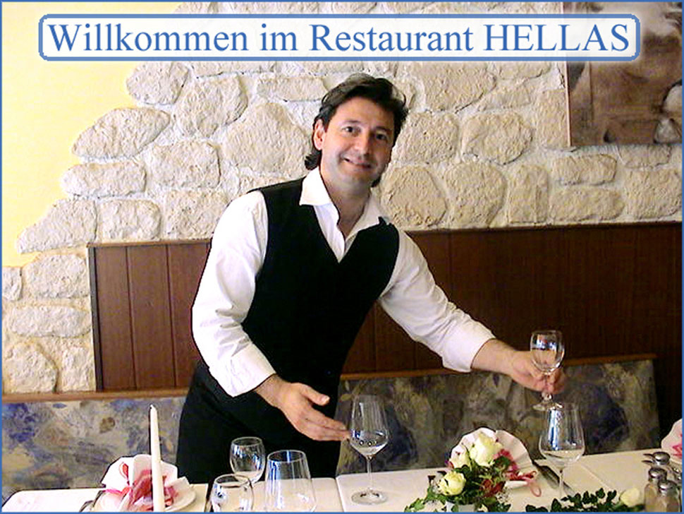 Kostas Trakalianis (Inhaber Restaurant HELLAS)