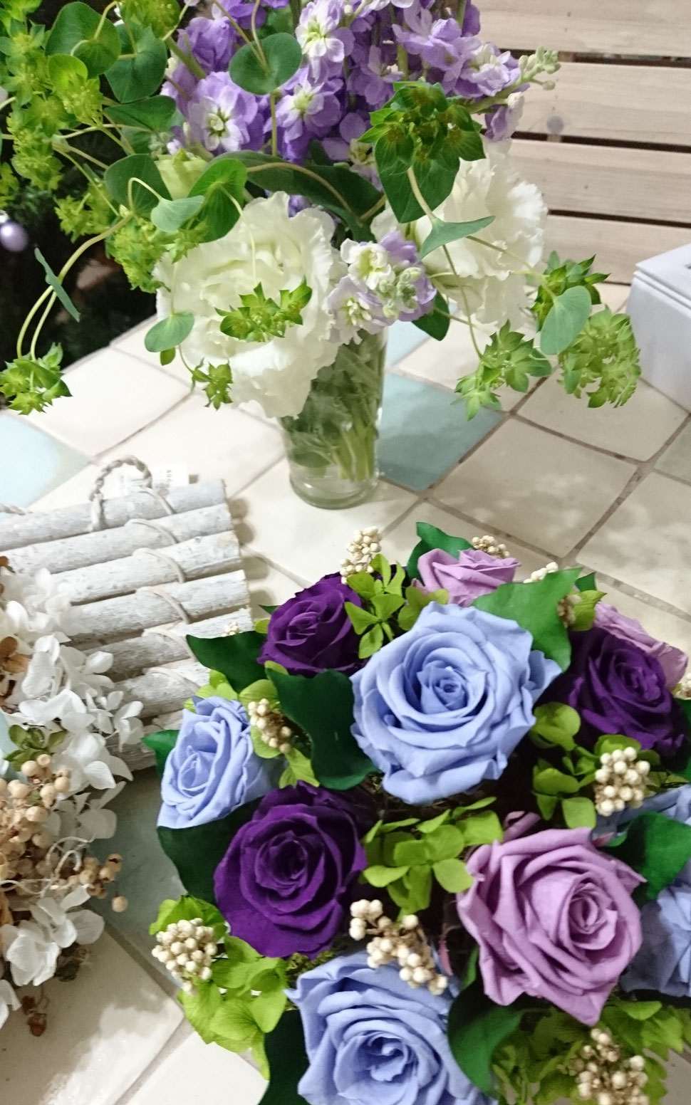 Lisの花工房,資格取得コース,プリザーブドフラワー教室,インストラクター,花