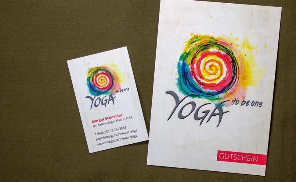 Visitenkarte Gutschein Website Feng Shui Logo