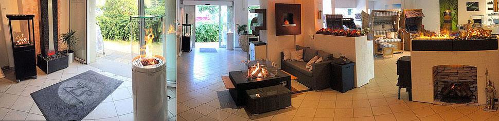 gaskaminofen f r den garten und die terrasse sk. Black Bedroom Furniture Sets. Home Design Ideas