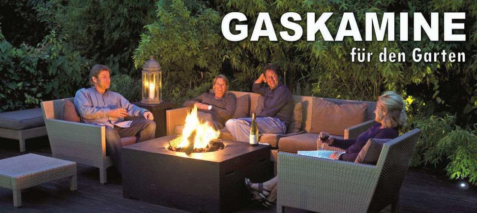 Gaskamine, Gassäulen für den Garten oder die Terrasse - sk-shopping.de