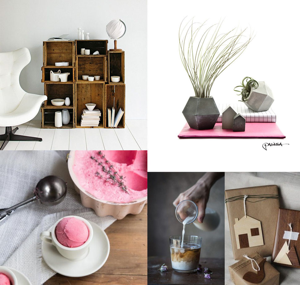 Home Making with Concrete Planter by PASiNGA and more