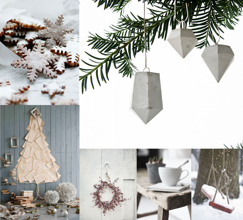 Mood Board Collection 'Winter Decor' with images via PASiNGA and Pinterest