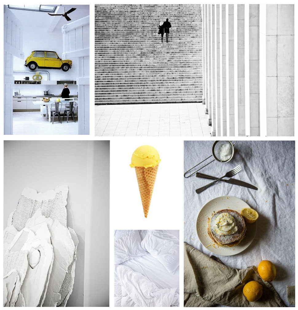 mood board collection 'My Ice' with images by PASiNGA and via Pinterest
