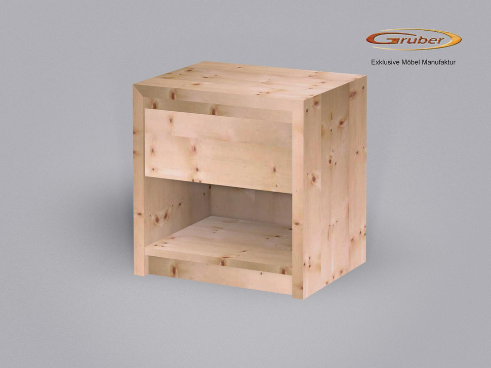 Bild: Zirbenholz-nachtkästchen