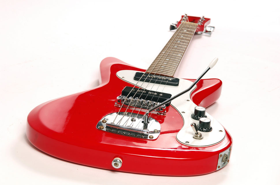 Lofiguitars Surf Red