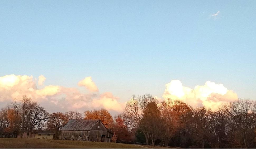 old Missouri barn