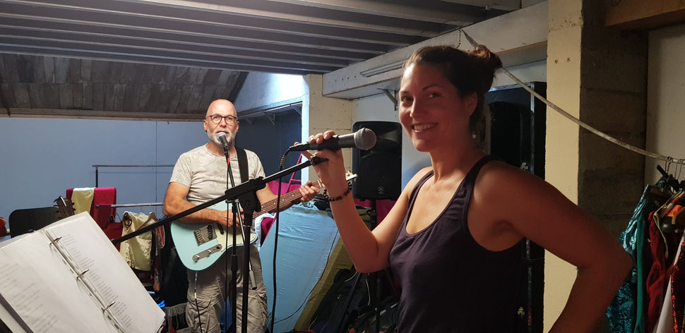 Camille Bancel et Jean-Philippe Mary forment le duo Wiliwaw.