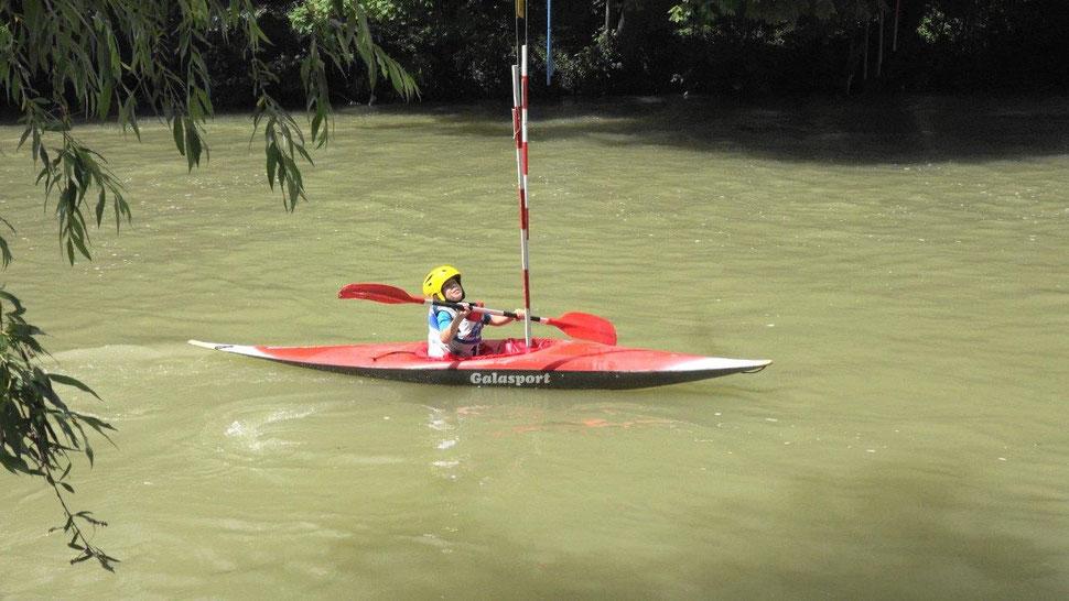 À Dormans, l'île Madeleine est le spot incontournable pour la découverte du canoë-kayak.