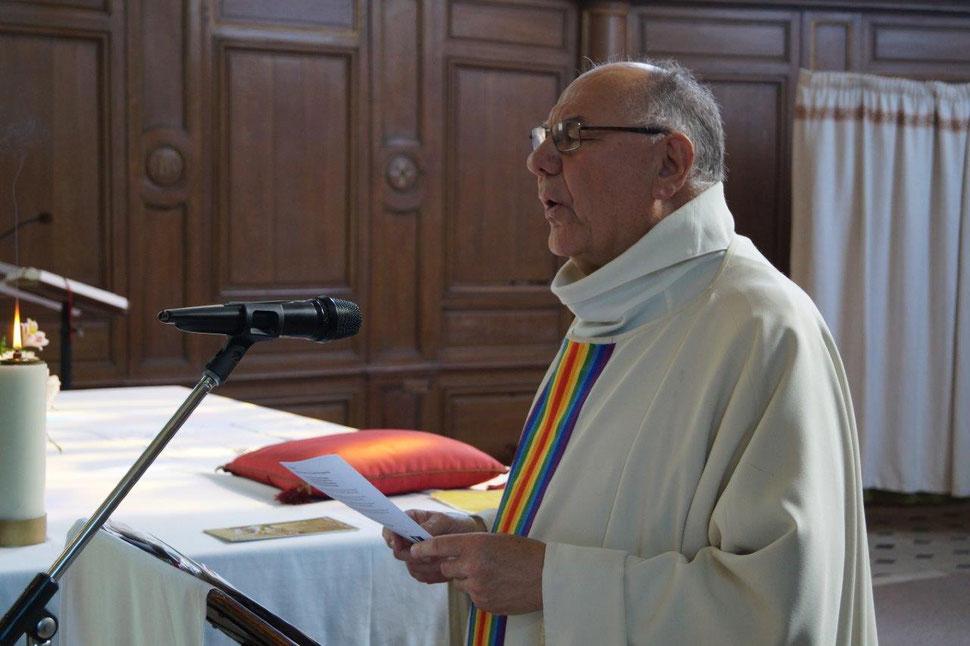 Le 3 juin 2018, Henri Gandon célèbre la messe en hommage au centenaire de la mort de l'aviateur Xavier Moissinac, abattu près de Condé-en-Brie le 3 juin 1918.