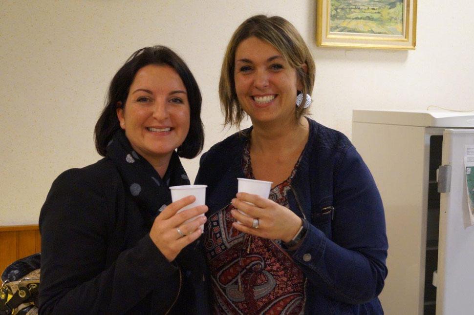 De gauche à droite : Isabelle Breton et Rachel Mérat pilotent désormais l'association Odon'Attitude.