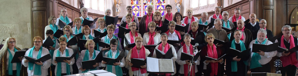 La Chorale Les Croq'Notes de Saint-Brice-Courcelles (51).