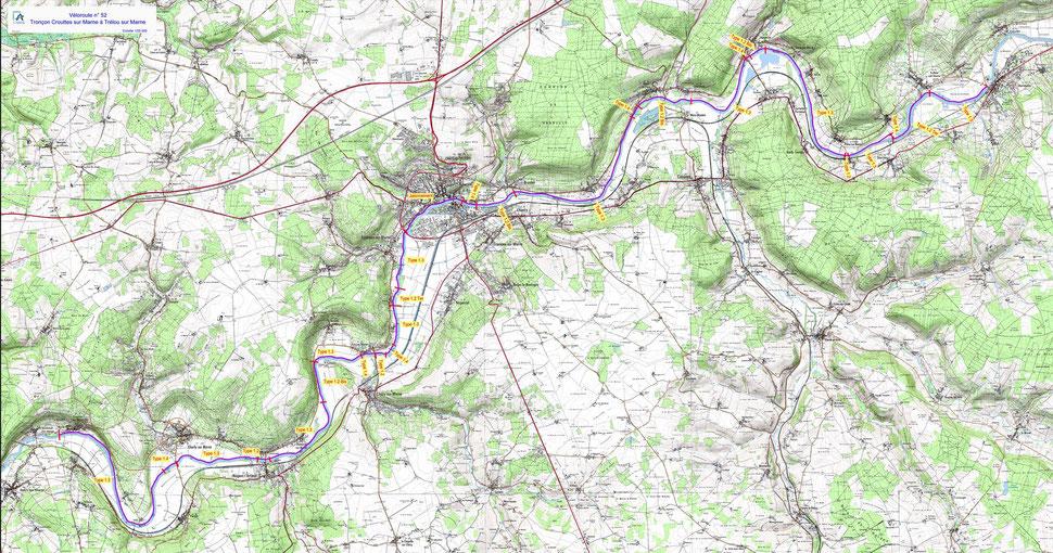 Véloroute n°52. Tronçon Crouttes-sur-Marne / Trélou-sur-Marne