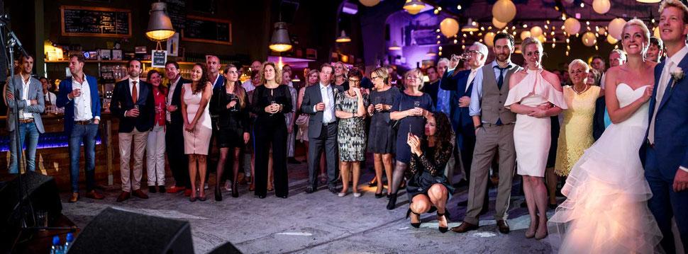 Bruiloft in Tapijn Kazerne Maastricht
