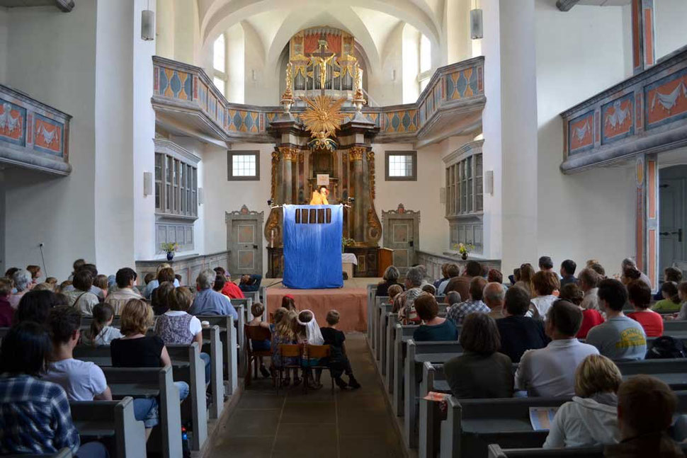 Rübezahl und das Zauberkraut - Hohnstein Kirche