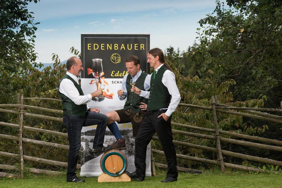 Edi, Gernot und Rainhard Schafferhofer