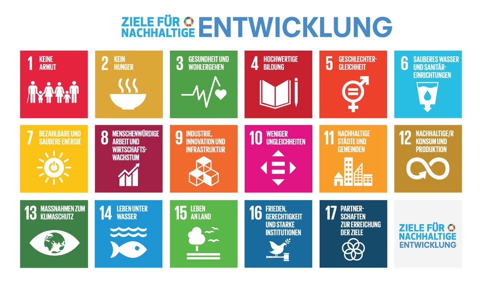 UN Richtlinie zur Verwendung der SDG Logos: https://www.un.org/sustainabledevelopment/wp-content/uploads/2019/01/SDG_Guidelines_AUG_2019_Final.pdf
