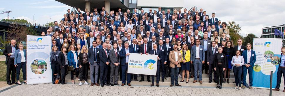 Allianz für Entwicklung und Klima – Unterstützerkreistreffen in Bonn/Deutschland, September 2019 mit Bundesentwicklungsminister Gerd Müller - Bildrechte: © GIZ/Aschoffotografie
