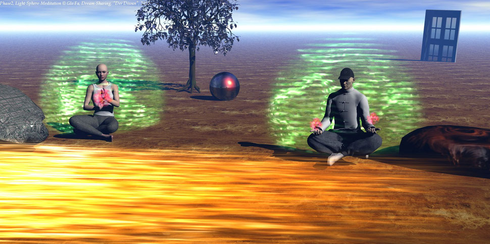 Dream-Sharing, Phase 2, Light-Sphere-Meditation