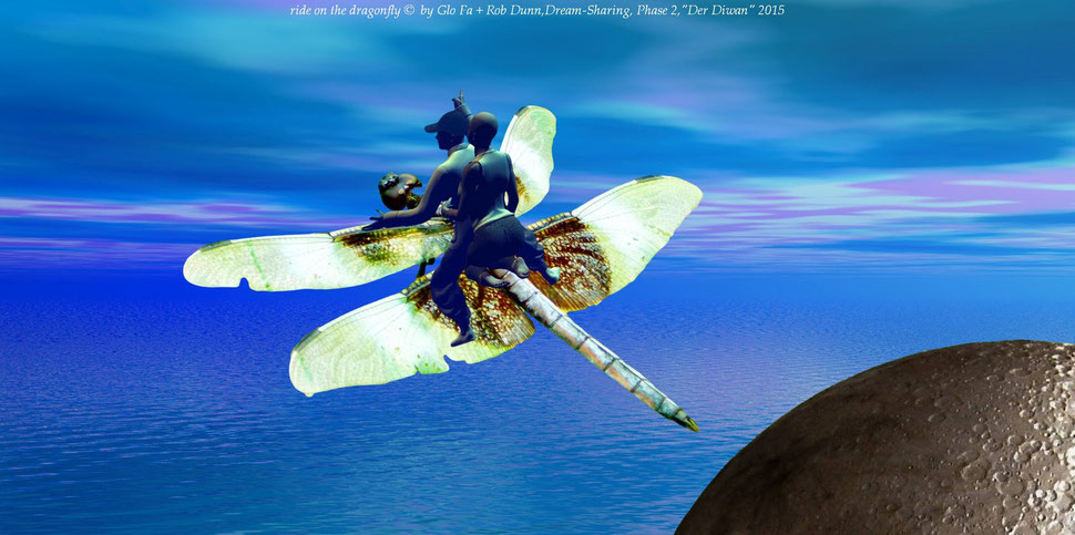 Dream-Sharing, Phase 2, ride on the dragonfly