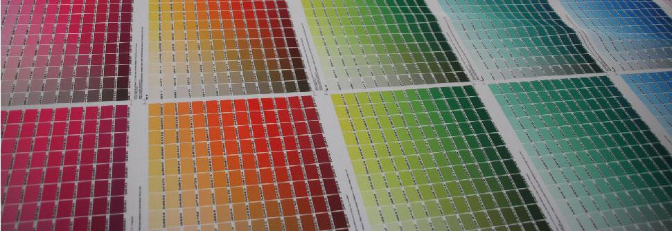 cmyk Farben - Pantone-Farbcode