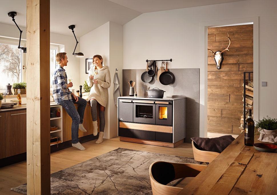 Lohberger Holzherd - Holzbackofen - Herd holzbefeuert - Alpin - Carat - Cook - Schladming - LC - LCP