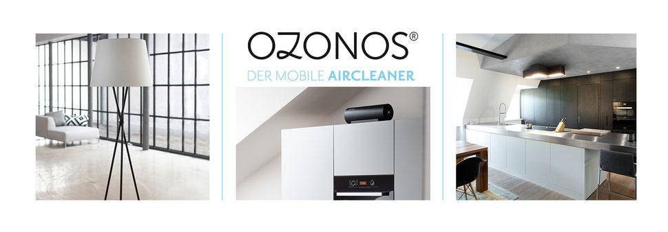 Ozonos Aitcleaner mobiler Luftreiniger und Stehlampe mit Luftreinigung jetzt günstig kaufen